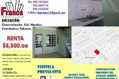 Foto de casa en renta en circunvalacion 0, morelos, comalcalco, tabasco, 2824526 No. 01