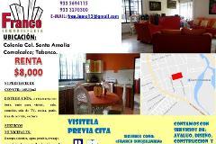 Foto de casa en renta en emiliano zapata 0, santa amalia, comalcalco, tabasco, 2947297 No. 01