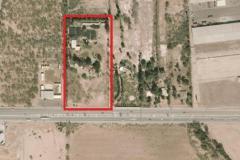 Foto de terreno comercial en venta en 1 1, compuertas, mexicali, baja california, 3870145 No. 01