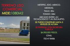 Foto de terreno comercial en venta en La Virgen, Metepec, México, 3413952,  no 01