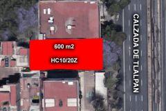 Foto de terreno habitacional en venta en Américas Unidas, Benito Juárez, Distrito Federal, 4692712,  no 01
