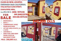 Foto de casa en venta en Villas del Real 2a Sección, Ensenada, Baja California, 5310807,  no 01