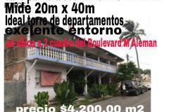 Foto de terreno habitacional en venta en Alvarado Centro, Alvarado, Veracruz de Ignacio de la Llave, 5082570,  no 01