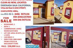 Foto de casa en venta en Villas Residencial del Real IV 2da. Sección, Ensenada, Baja California, 5292946,  no 01