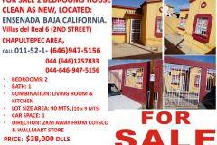 Foto de casa en venta en Villas Residencial del Real IV 2da. Sección, Ensenada, Baja California, 5297154,  no 01