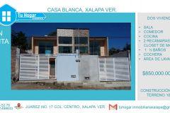 Foto de casa en venta en Casa Blanca, Xalapa, Veracruz de Ignacio de la Llave, 5419733,  no 01
