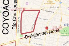 Foto de terreno habitacional en venta en General Pedro Maria Anaya, Benito Juárez, Distrito Federal, 5296814,  no 01