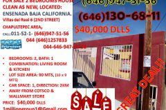 Foto de casa en venta en Villas del Real 2a Sección, Ensenada, Baja California, 5316229,  no 01