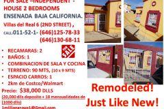 Foto de casa en venta en Villas del Real 2a Sección, Ensenada, Baja California, 4636125,  no 01