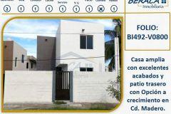 Foto de casa en venta en Las Flores, Ciudad Madero, Tamaulipas, 4638544,  no 01