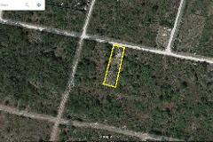 Foto de terreno habitacional en venta en  , amapola, mérida, yucatán, 3649201 No. 01