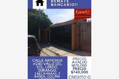 Foto de casa en venta en armonia 240, valle del sol, lerdo, durango, 0 No. 01