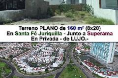 Foto de terreno habitacional en venta en avenida santa fe , juriquilla santa fe, querétaro, querétaro, 4498602 No. 01