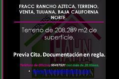 Foto de terreno habitacional en venta en  , azteca, tijuana, baja california, 3238812 No. 01
