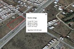 Foto de terreno habitacional en venta en boulevard emilio arizpe s/n , la estrella, saltillo, coahuila de zaragoza, 4900693 No. 01
