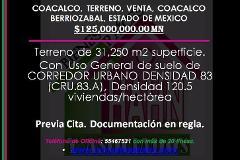 Foto de terreno habitacional en venta en  , calpulli del valle, coacalco de berriozábal, méxico, 3439074 No. 01