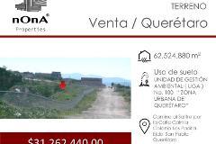 Foto de terreno habitacional en venta en camino al salitre , san josé el alto, querétaro, querétaro, 4509683 No. 01