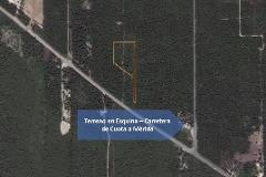 Foto de terreno habitacional en venta en carretera de cuota 0, alfredo v bonfil, benito juárez, quintana roo, 4667170 No. 01
