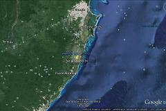 Foto de terreno industrial en venta en carretera federal cancun-tulum , k.m 308, benito juárez, quintana roo, 4536333 No. 01