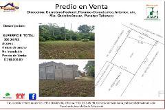 Foto de terreno habitacional en venta en carretera federal, paraíso-comalcalco, interior, s/n, ría. quintín arauz, paraí , hueso de puerco (colonia quintín arauz), paraíso, tabasco, 4516074 No. 01