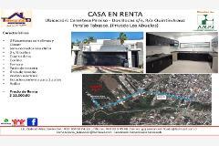 Foto de casa en renta en carretera paraíso - dos bocas s/n, r/a quintín arauz paraíso tabasco, (privada , moctezuma 1, paraíso, tabasco, 4400717 No. 01