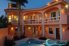 Foto de casa en venta en casa feliz, carretera costera sur #, zona hotelera sur, cozumel, quintana roo, 1076247 No. 01
