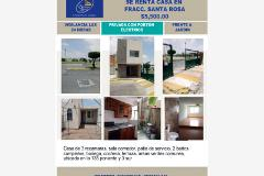Foto de casa en renta en cerrada santa clara 1, jardines de santa rosa, puebla, puebla, 0 No. 01