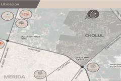 Foto de terreno habitacional en venta en  , cholul, mérida, yucatán, 4618303 No. 01