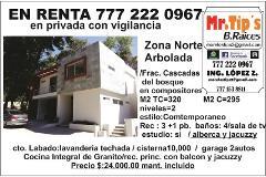 Foto de casa en renta en compositores 140, tlaltenango, cuernavaca, morelos, 0 No. 01