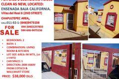 Foto de casa en venta en Villas Residencial del Real IV 2da. Sección, Ensenada, Baja California, 5280431,  no 01
