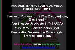 Foto de terreno comercial en venta en  , doctores, cuauhtémoc, distrito federal, 2790604 No. 01
