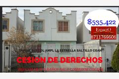 Foto de casa en venta en duvhe 248, la estrella, saltillo, coahuila de zaragoza, 0 No. 01