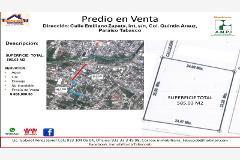 Foto de terreno habitacional en venta en emiliano zapata , hueso de puerco (colonia quintín arauz), paraíso, tabasco, 4516665 No. 01
