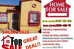 Foto de casa en venta en Villas del Real 2a Sección, Ensenada, Baja California, 5304911,  no 01