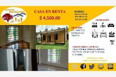Foto de casa en renta en fovissste 3, morelos, comalcalco, tabasco, 4269008 No. 01