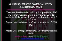 Foto de terreno comercial en venta en  , guerrero, cuauhtémoc, distrito federal, 3036406 No. 01