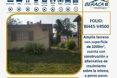 Foto de terreno habitacional en venta en  , jacarandas, ciudad madero, tamaulipas, 4313284 No. 01