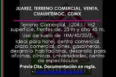 Foto de terreno comercial en venta en  , juárez, cuauhtémoc, distrito federal, 3258196 No. 01