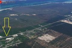 Foto de terreno comercial en venta en  , k.m 308, benito juárez, quintana roo, 0 No. 01