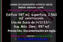 Foto de edificio en venta en  , lomas de chapultepec viii sección, miguel hidalgo, distrito federal, 3089435 No. 01