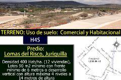 Foto de terreno comercial en venta en los cipreses , juriquilla, querétaro, querétaro, 3934967 No. 01