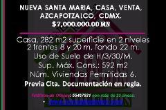 Foto de casa en venta en  , nueva santa maria, azcapotzalco, distrito federal, 3572614 No. 01
