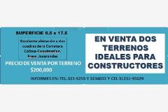 Foto de terreno habitacional en venta en paseo del encino y paseo del roble , jacarandas, villa de álvarez, colima, 0 No. 01