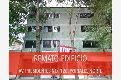 Foto de edificio en venta en presidentes 128, portales norte, benito juárez, distrito federal, 0 No. 01