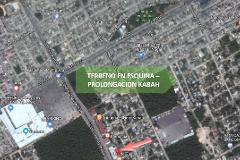 Foto de terreno comercial en venta en prolongación kabah 0, supermanzana 245, benito juárez, quintana roo, 0 No. 01
