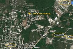 Foto de terreno comercial en venta en  , san pedro cholul, mérida, yucatán, 0 No. 01