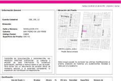 Foto de terreno habitacional en venta en  , san pedro de los pinos, benito juárez, distrito federal, 0 No. 01