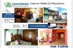 Foto de casa en venta en sn , hipódromo, durango, durango, 4652561 No. 01