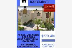 Foto de casa en venta en villa camacho 1165, villa zaragoza, torreón, coahuila de zaragoza, 0 No. 01