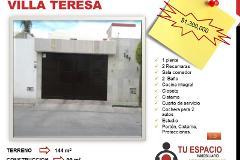 Foto de casa en venta en  , villa teresa, aguascalientes, aguascalientes, 4354238 No. 01